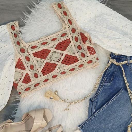 Crop Top crochet [1]