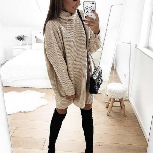 Jersey-Vestido Lana [0]