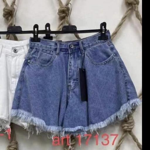 Short Jean Vuelo Azul Claro [1]