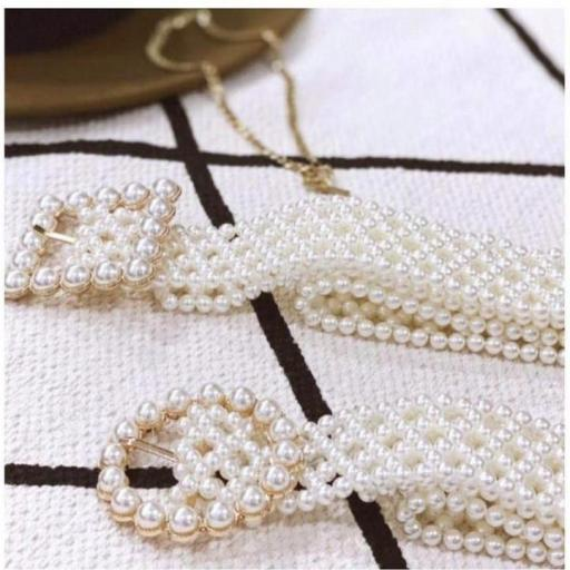 Cinturon Perlas
