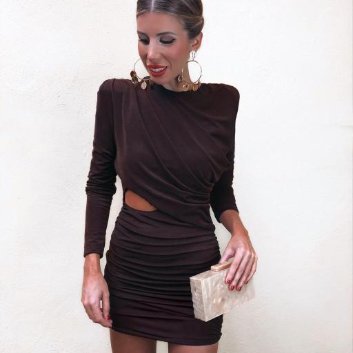 Vestido Chocolate