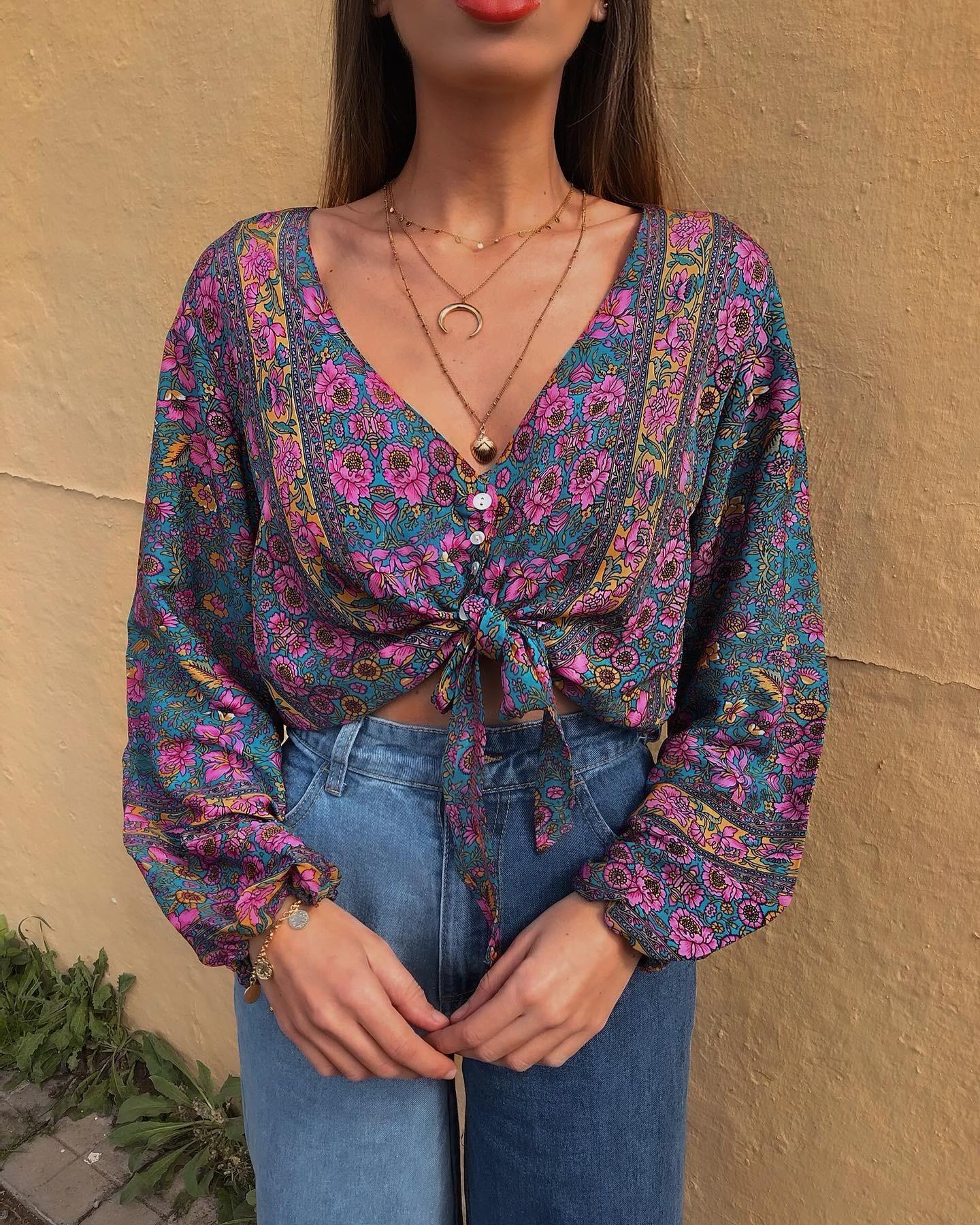 Blusa Marroquí
