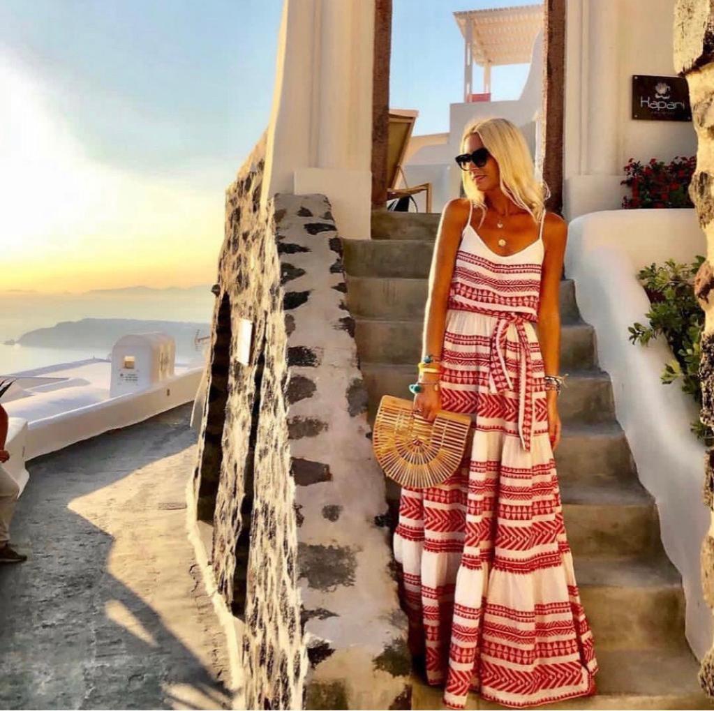 Vestido Mykonos