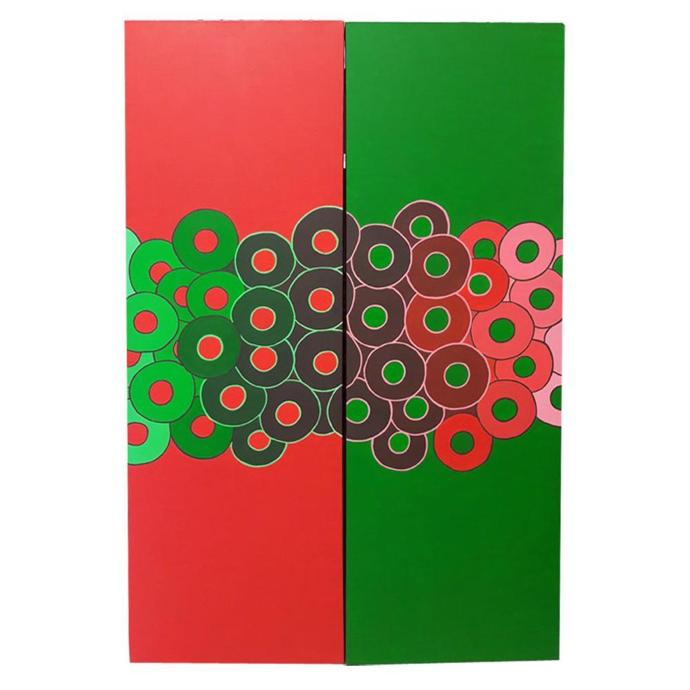 Contraste verde/rojo
