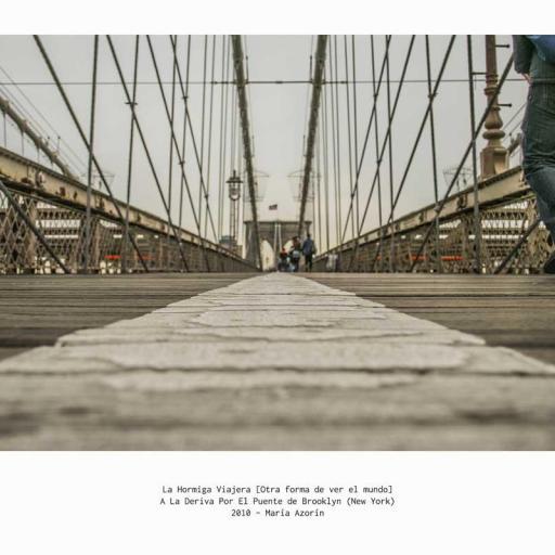 A la deriva por el puente de Brooklyn - Nueva York 2010