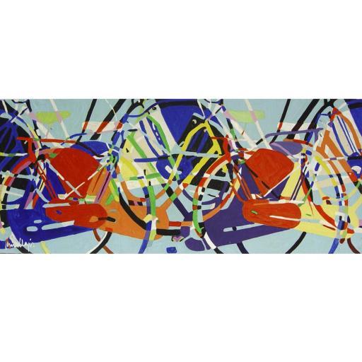 Bicis abstracción II