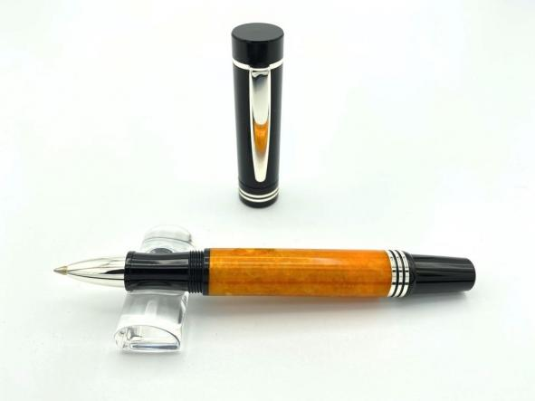 Roller Egeo Naranja / Negro