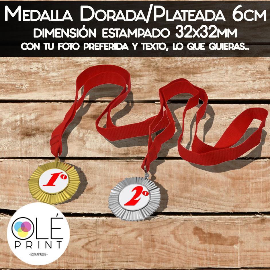 Medallas Dorada y Plateada