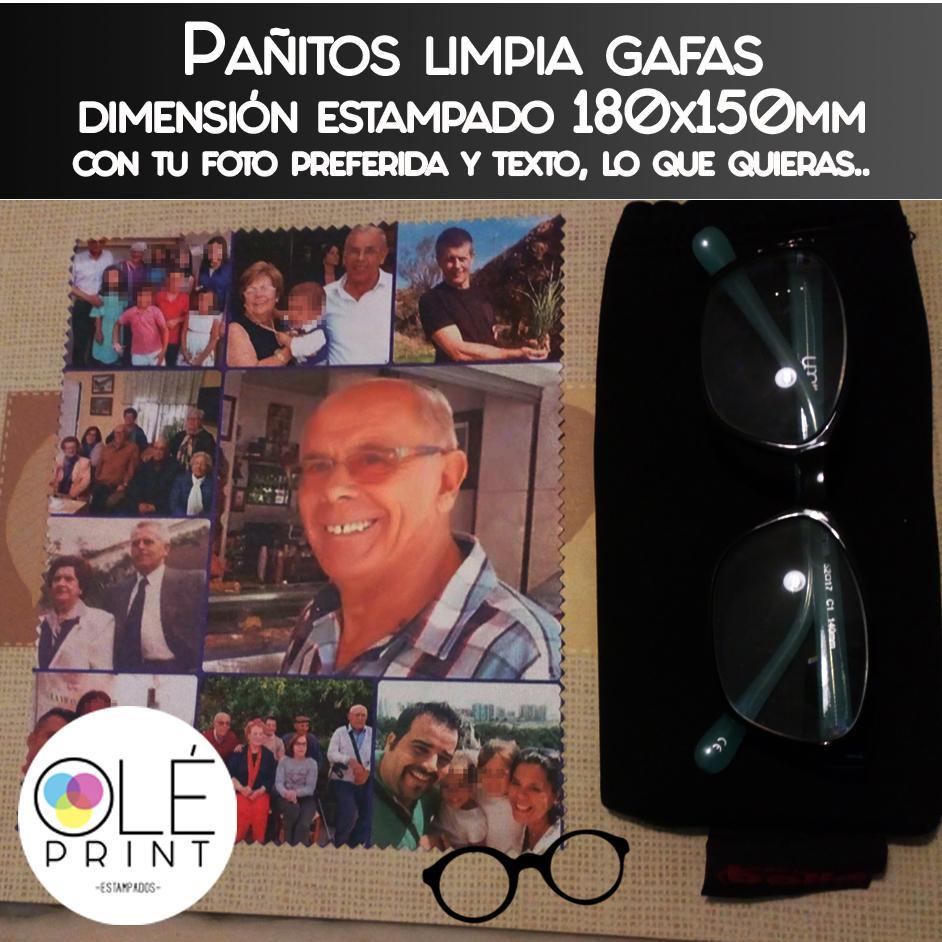 Pañitos limpia gafas, smartphones, tablets y portátiles