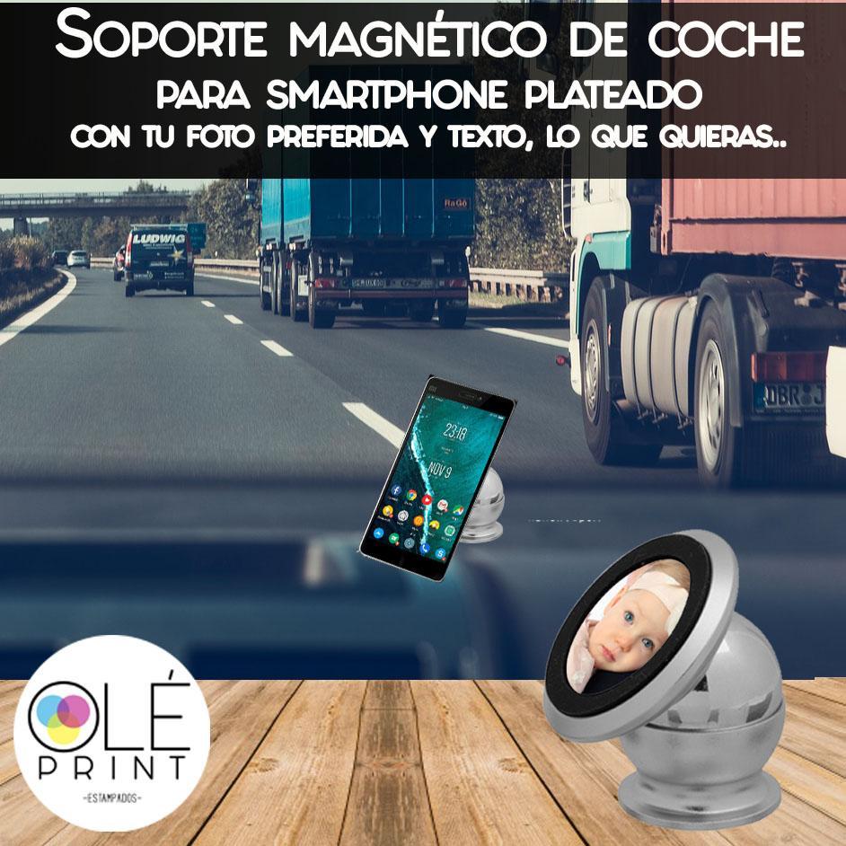 Soporte sostenedor magnético de coche para smartphone
