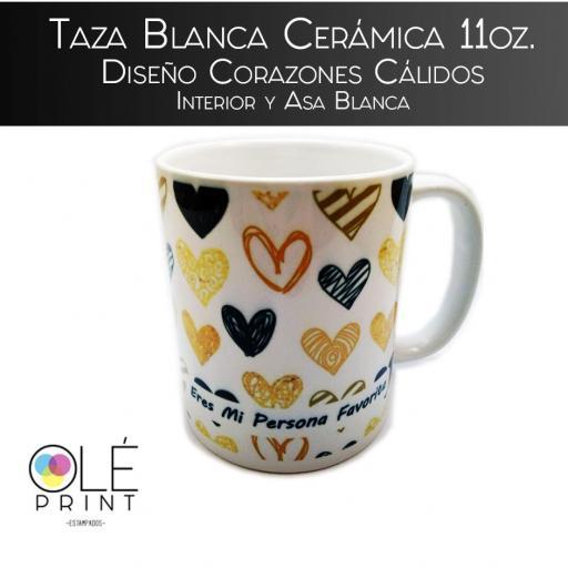 Tazas impresas sublimadas ceramica cafe diseño corazones calidos eres mi persona favorita.jpg