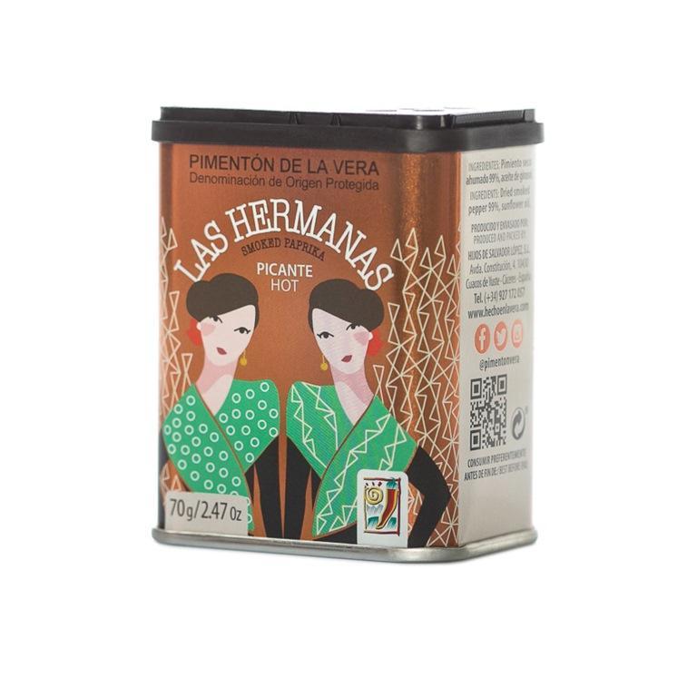 Pimentón de La Vera Picante lata