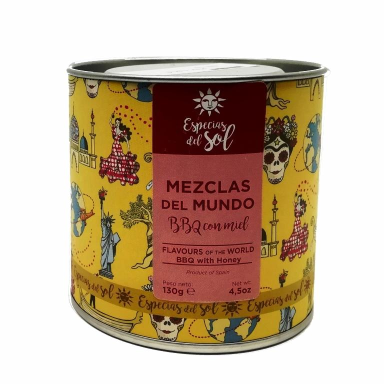 Mezclas del mundo BBQ con miel