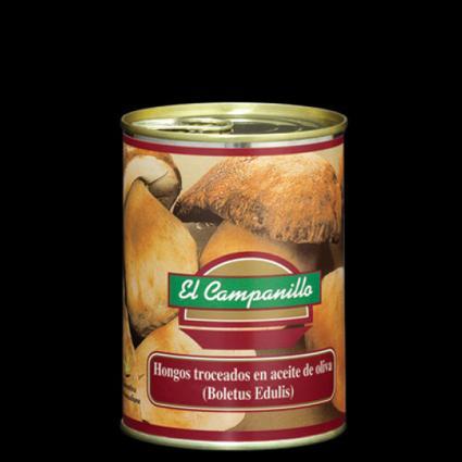 Boletus en Aceite Oliva lata 425 ml