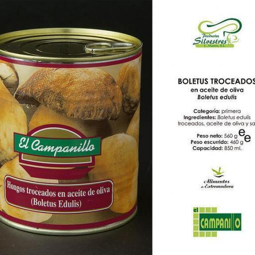 Boletus en Aceite Oliva tarro 250 ml. [2]