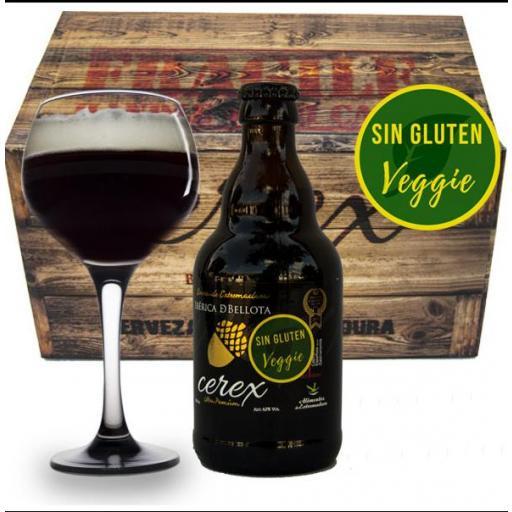 Cerveza Cerex Bellota Sin gluten - Veggie