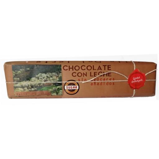 Chocolate con leche artesano Valle del Jerte