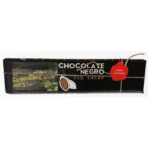 Chocolate negro artesano 85% cacao Valle del Jerte [0]
