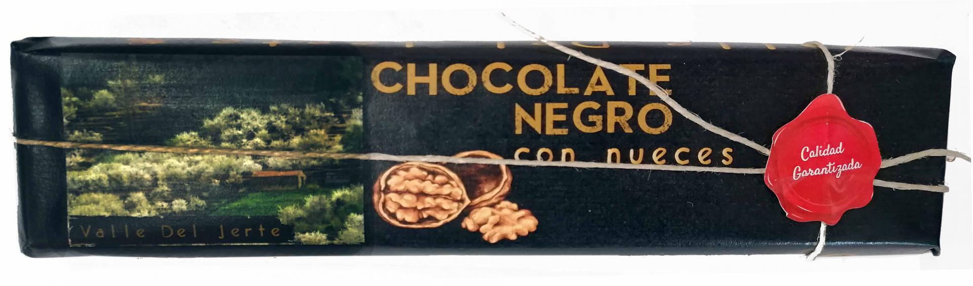 Chocolate negro con nueces Valle del Jerte