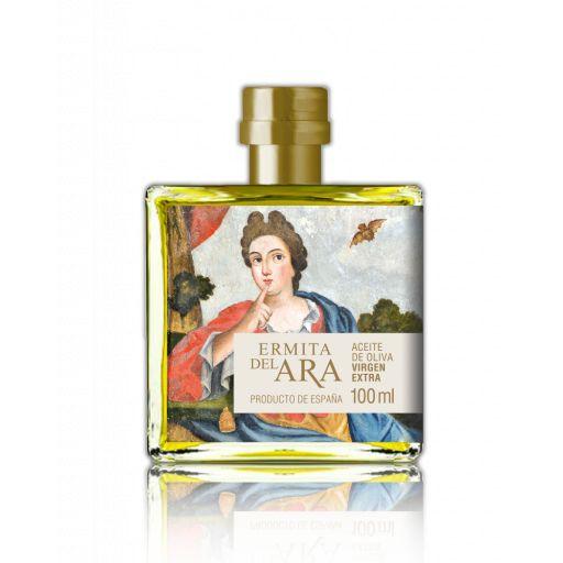 Estuche Aceite Oliva Virgen Extra Ermita del Ara variedad Picolimón 4x100 ml. [1]