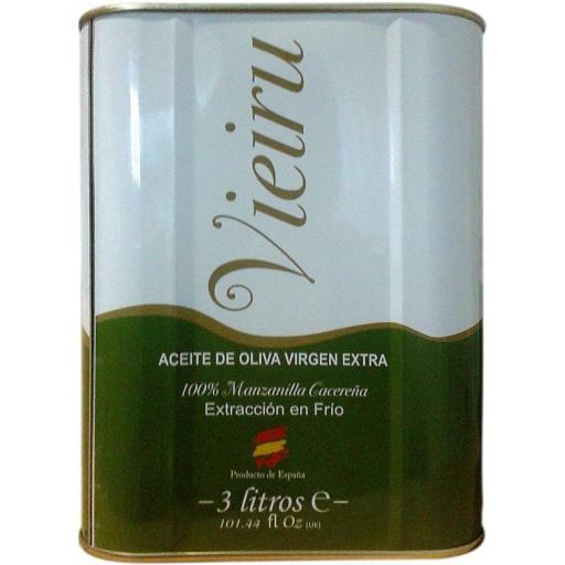 Aceite de Oliva Virgen Extra Vieiru 3L.