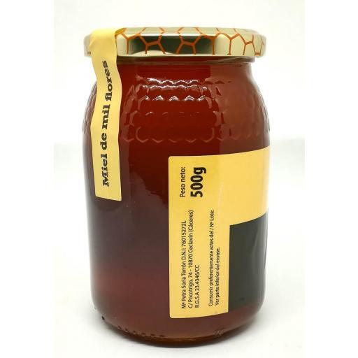 Miel Mil Flores Queen Honey 0,5 Kg. [1]