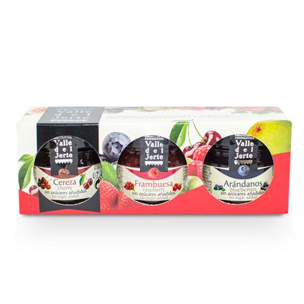 Pack preparados frutas 3 miniaturas