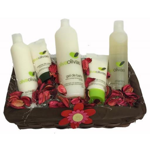 Pack cosmética Oliva Olivae 4