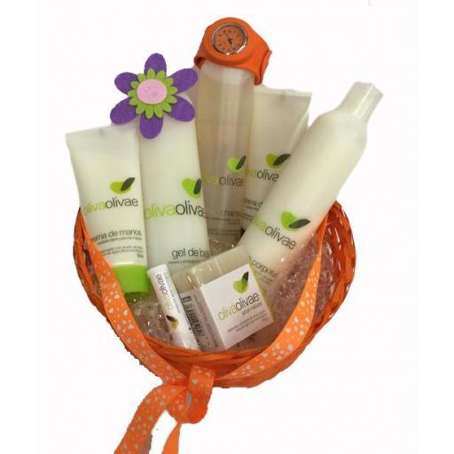 Pack cosmética Oliva Olivae 5