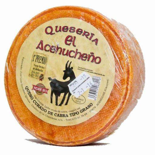 """Queso cabra """"El Acehucheño"""""""