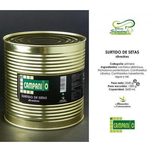 Surtido de Setas Silvestres Tarro 370 ml [1]