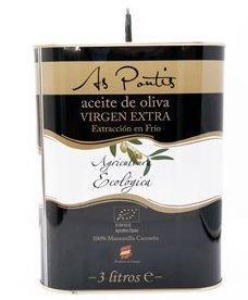 Aceite de Oliva Virgen Extra Vieru Ecologico 3L.