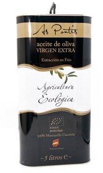 Aceite de Oliva Virgen Extra Vieru Ecologico 5L.