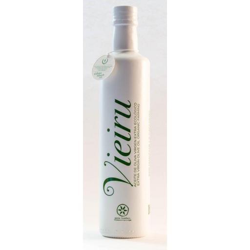 Aceite de Oliva Virgen Extra D.O.Gata Hurdes Vieiru Ecológico 500 ml.