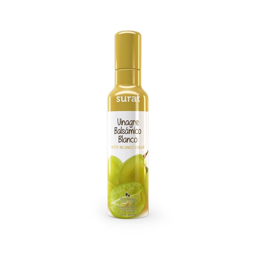 SURAT VINAGRE BALSÁMICO BLANCO 250 ml