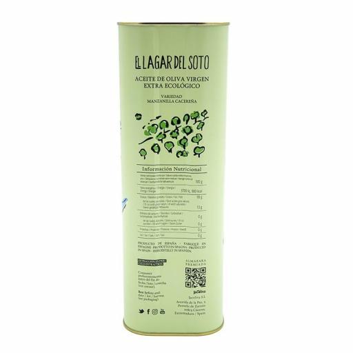Aceite de oliva virgen extra ecologico Lagar del Soto 5 litros [3]