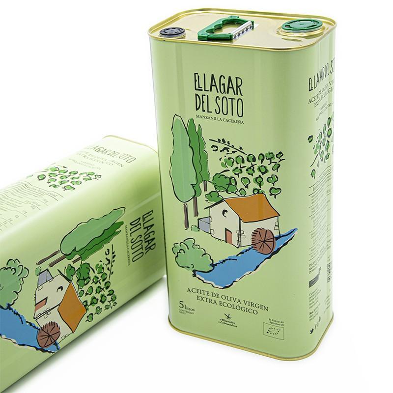 Aceite de oliva virgen extra ecologico Lagar del Soto 5 litros
