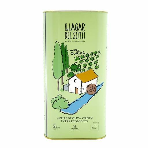 Aceite de oliva virgen extra ecologico Lagar del Soto 5 litros [1]