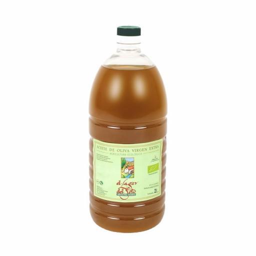 Aceite de oliva virgen extra ecologico Lagar del Soto 2 litros