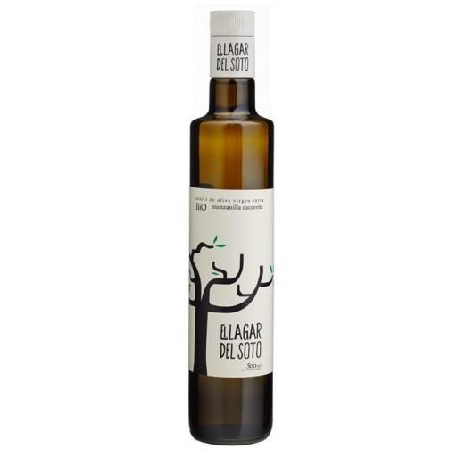 Aceite oliva Virgen Extra Lagar del Soto Ecologico BIO Cristal 500 ml.