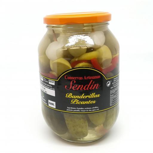 Banderillas picantes 850 ml