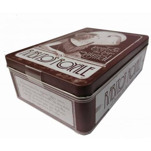 Bombón de higo Rabito Royale caja de lata [1]