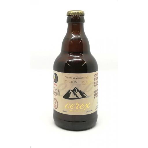 Cerveza Cerex Edición Limitada