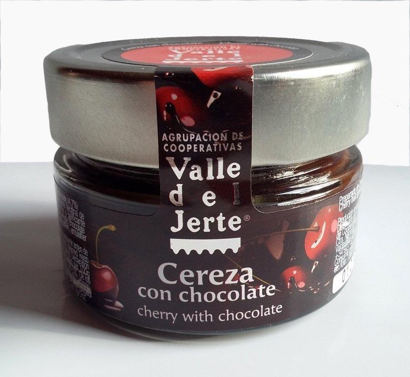 Cerezas con chocolate
