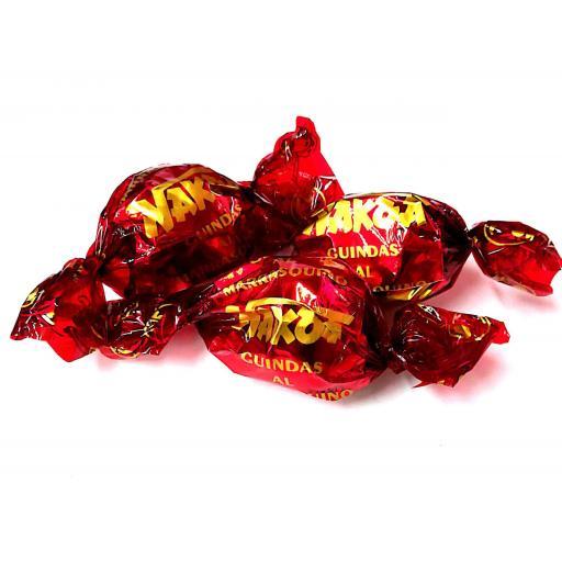 Cerezas bañadas con chocolate [2]
