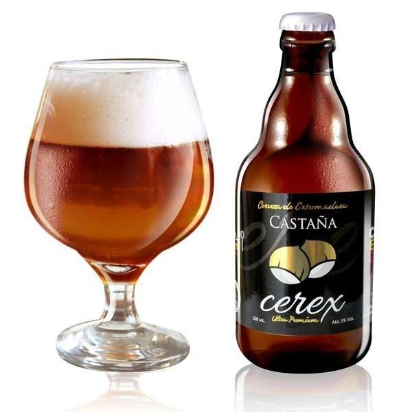 Cerveza Cerex Castaña