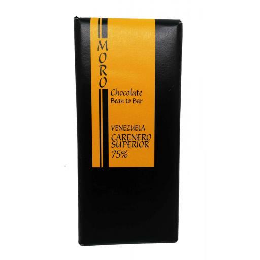 Chocolate Carenero Superior 75% Venezuela - Chocolates Moro