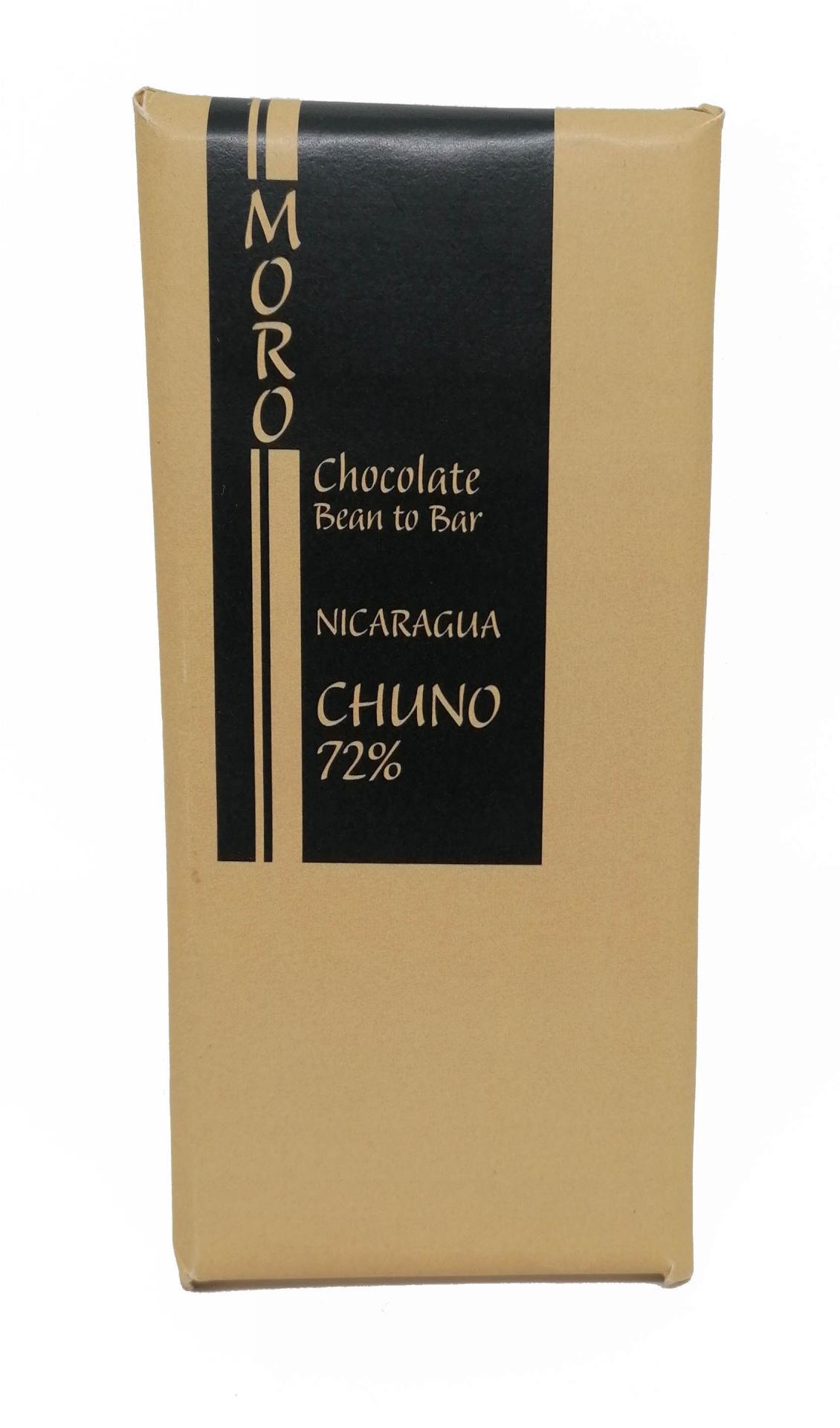 Chocolate Negro Chuno 72% - Chocolates Moro