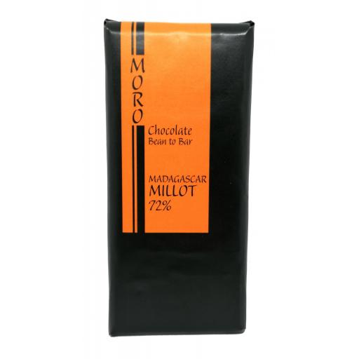 Chocolate Madagascar Millot 72%  - Chocolates Moro
