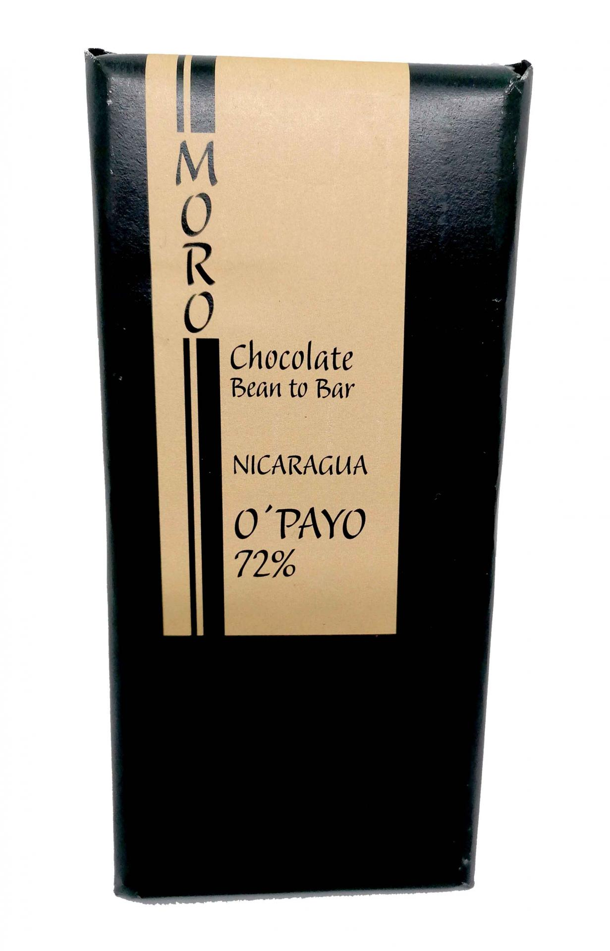 Chocolate Negro O´PAYO 72% - Chocolates Moro